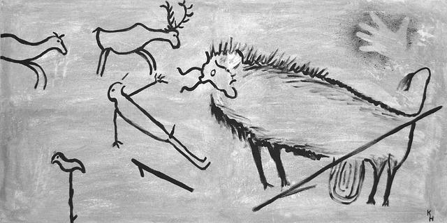 kresby z doby kamenné