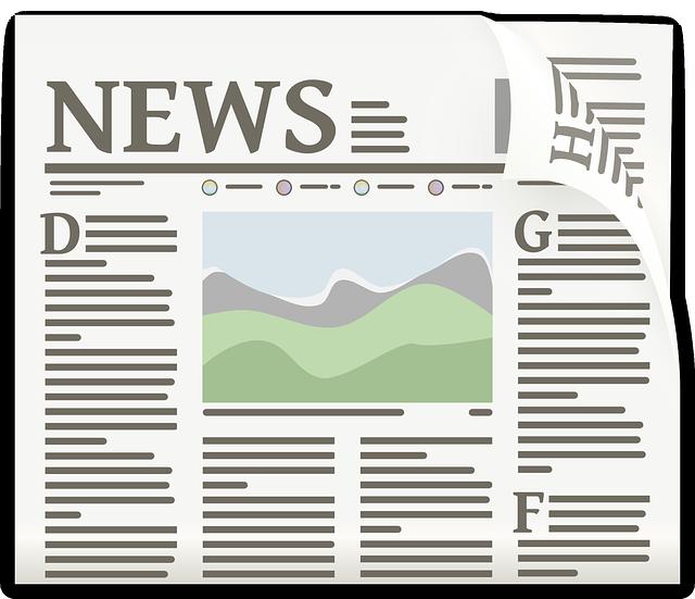 články v novinách