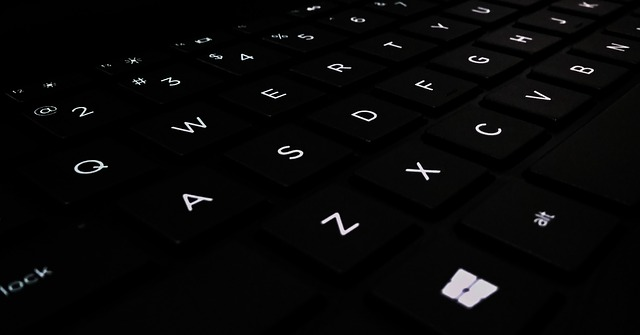 typ klávesnice