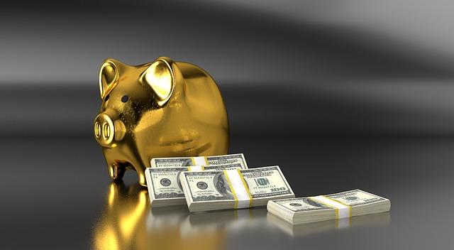 pokladnička a bankovky