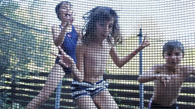 děti za sítí
