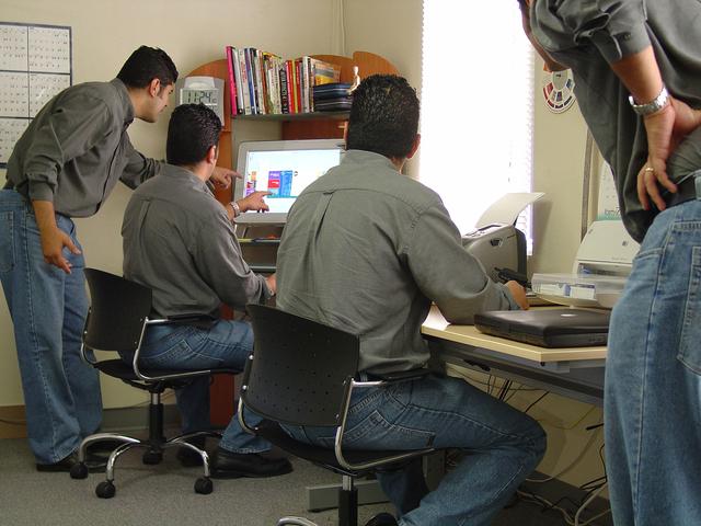 spolupracující tým